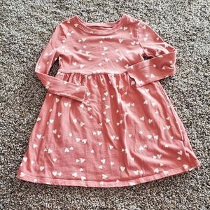 Old navy heart tshirt dress size 3T